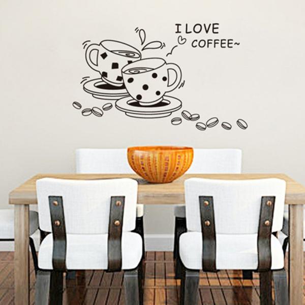 Autocolant bucatarie - Cesti de cafea