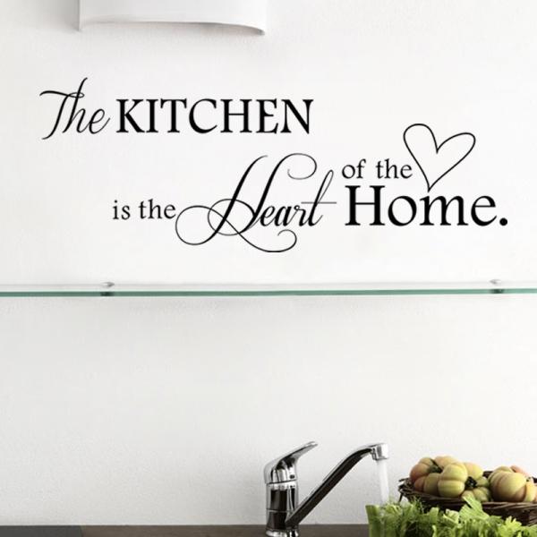 Autocolant bucatarie - Inima casei