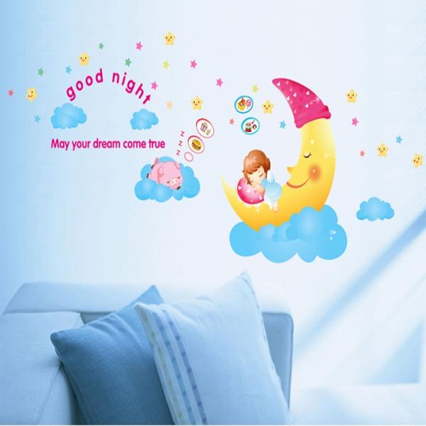 Sticker decorativ copii - Somn usor!