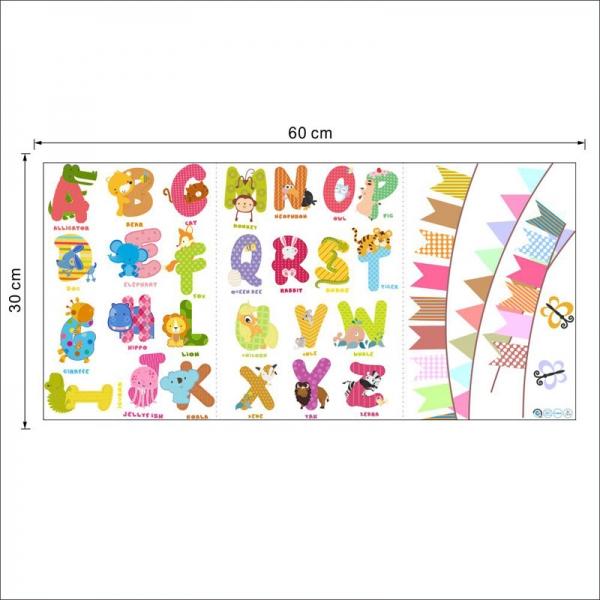 Sticker educativ - Litere
