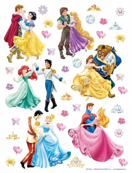 Stickere perete Disney - Printese si Printi