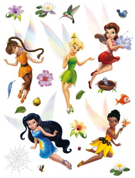 Stickere perete Disney - Zane - Tinkerbell