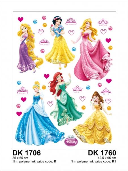 Stickere perete  - Printese Disney