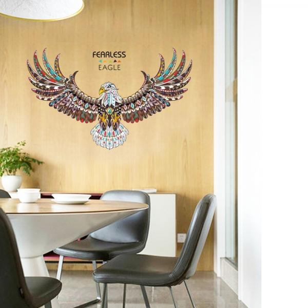 Sticker 3D - Vultur - 60x90 cm