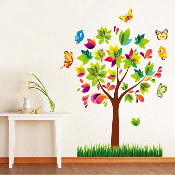 Autocolant de perete pentru copii - Copacelul fermecat 3