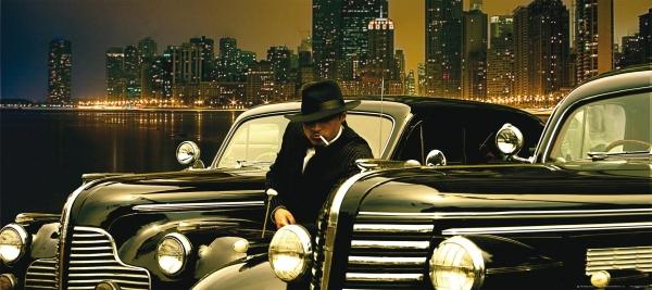 Fototapet Gangster in Chicago