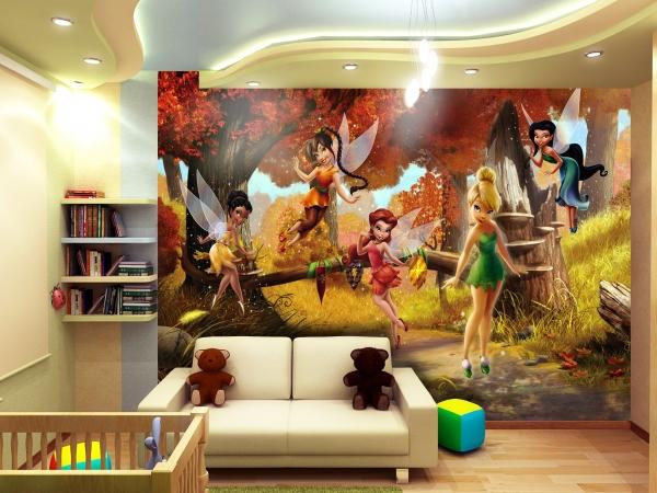 Fototapet Disney - Zane in Padurea Tomnatica 1