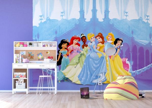 Fototapet Printese Disney la Palat
