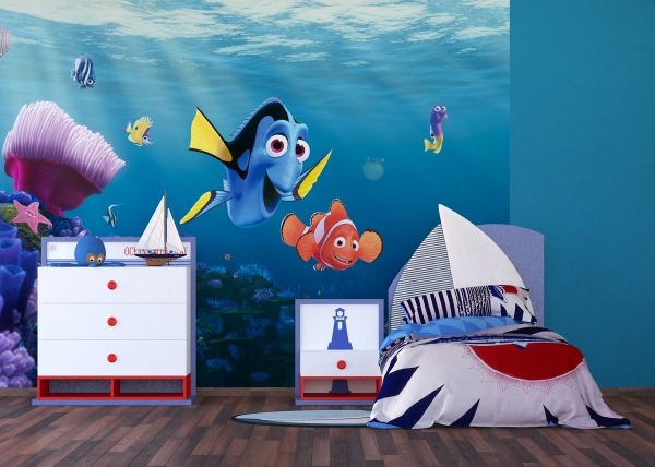 Fototapet Disney - Nemo si Dory in Recif 2