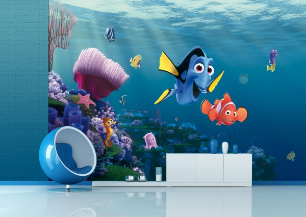 Fototapet Disney - Nemo si Dory in Recif 1