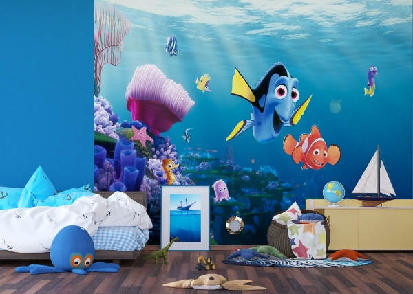 Fototapet Disney - Nemo si Dory in Recif 3