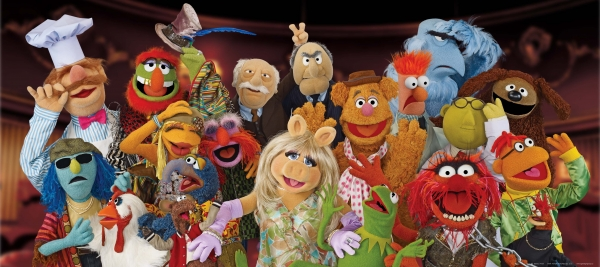 Fototapet The Muppets