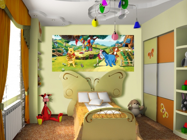 Fototapet Disney - Winnie de Plus la Petrecere 1