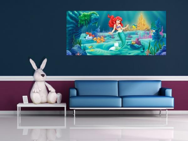 Fototapet Disney - Micuta Sirena 1