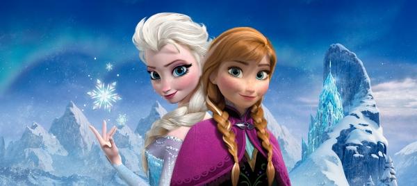 Fototapet Elsa si Anna