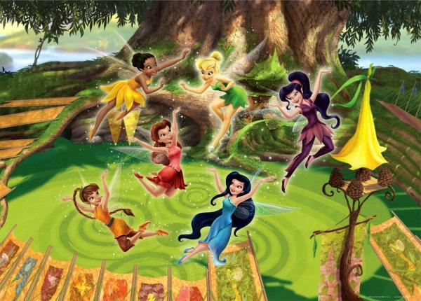 Fototapet Disney - Lumea Zanelor 0