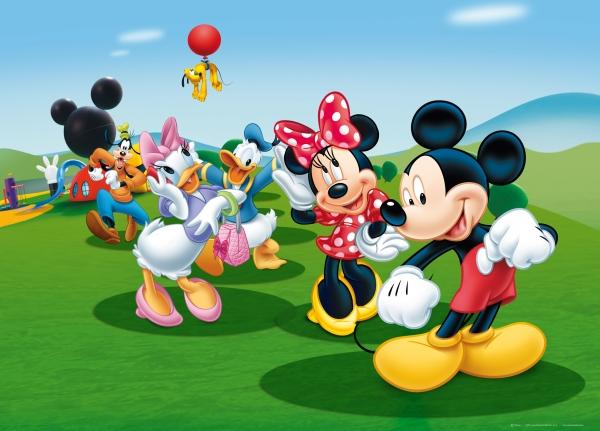 Fototapet Disney - Clubul lui Mickey Mouse