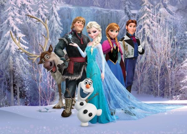 Fototapet Disney - Frozen 0