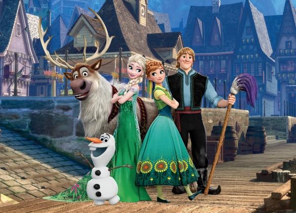 Fototapet Personaje Frozen