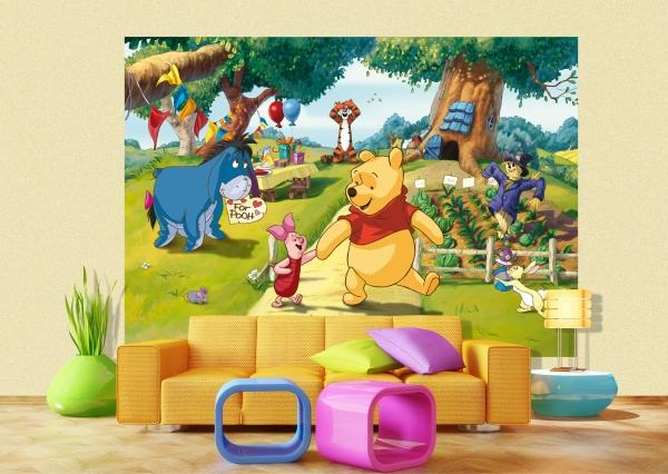 Fototapet Winnie the Pooh si Prietenii 1