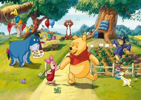 Fototapet Winnie the Pooh si Prietenii