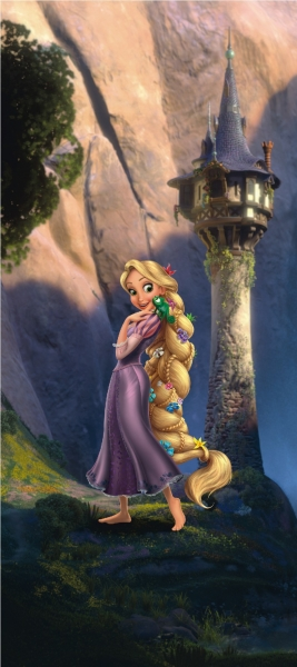 Fototapet Rapunzel