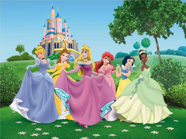 Fototapet Printese Disney 0