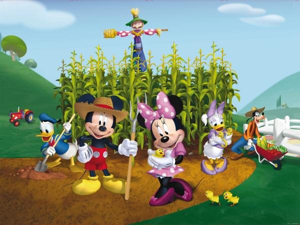 Fototapet Disney - Clubul lui Mickey Mouse la Ferma