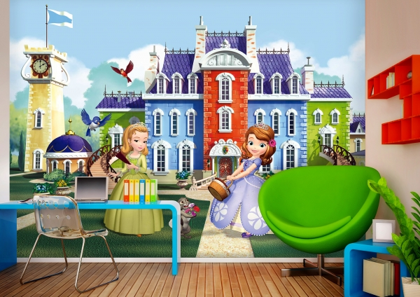 Fototapet Disney - Printesa Sofia si Printesa Amber