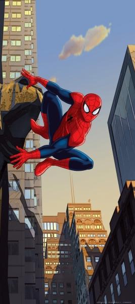 Fototapet Spiderman in Actiune
