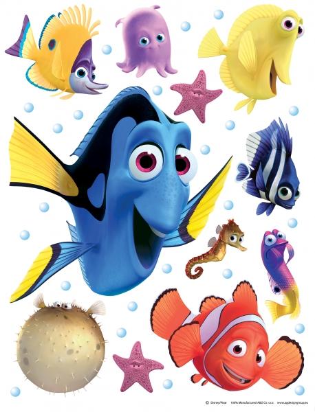 Sticker Nemo si Dory -  65X85cm - DK1705 0