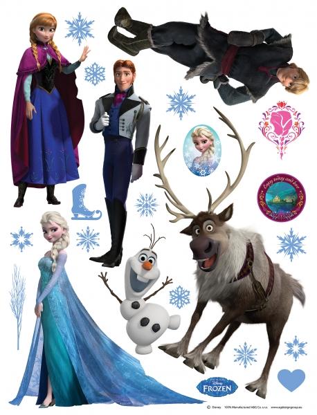 Sticker Frozen - 65x85cm - DK1776 0