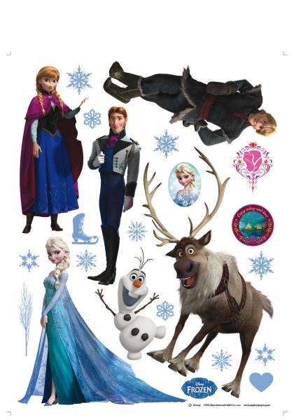 Sticker Frozen - 65x85cm - DK1776 1