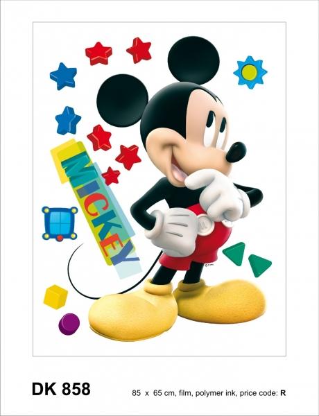 Sticker Mickey Mouse - 65x85cm - DK858
