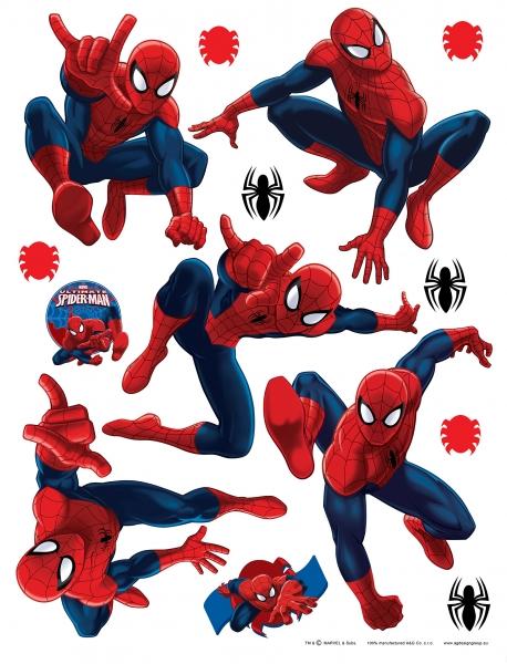 Sticker Spiderman - 65x85cm - DK1713 0