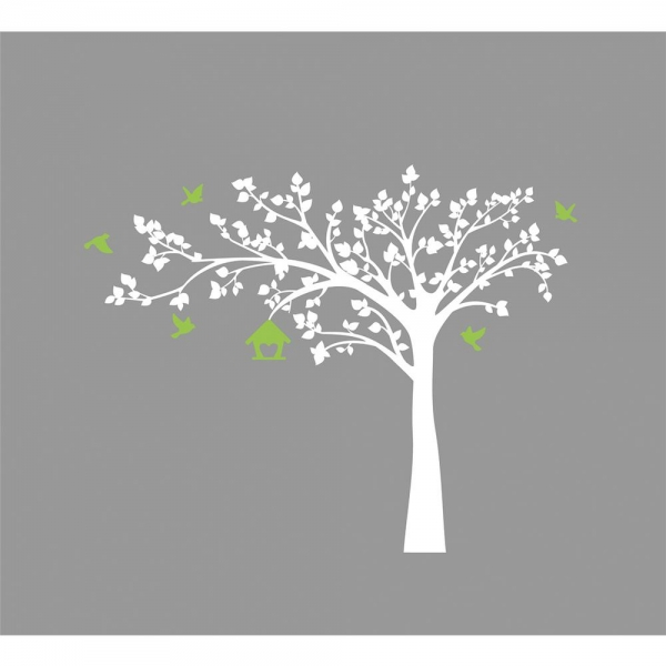 Sticker camera bebe - Copacel alb