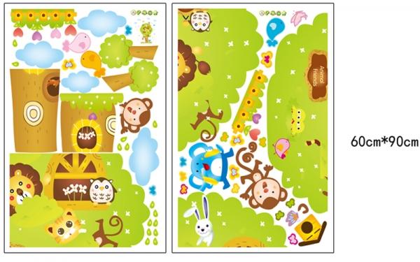 Sticker camere copii - Copacul Urias 5