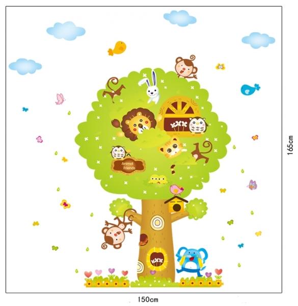Sticker camere copii - Copacul Urias 4