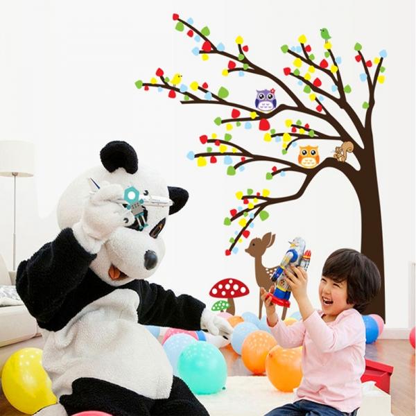 Sticker de perete camera copilului - Caprioara in padure 4