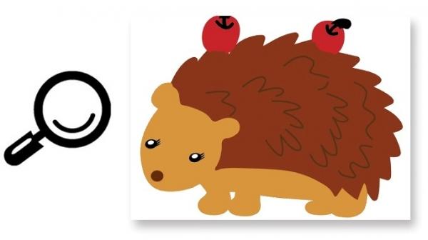 Autocolant de perete camere copii - Animalele padurii 5