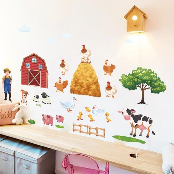 Sticker pentru copii - Animale la ferma 4