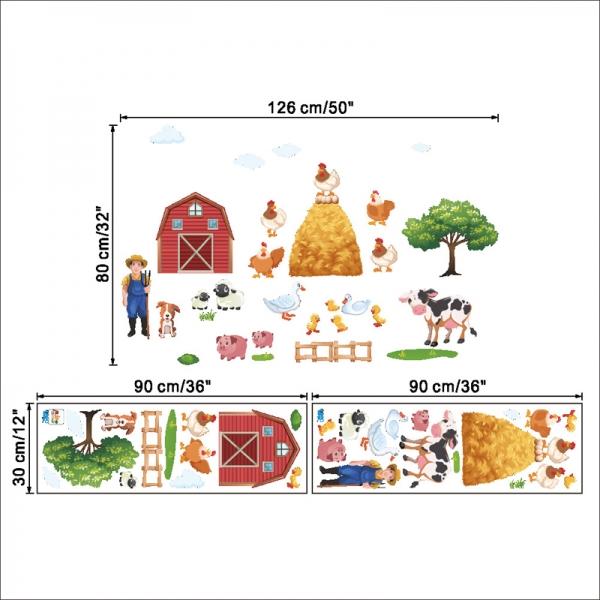 Sticker pentru copii - Animale la ferma 6