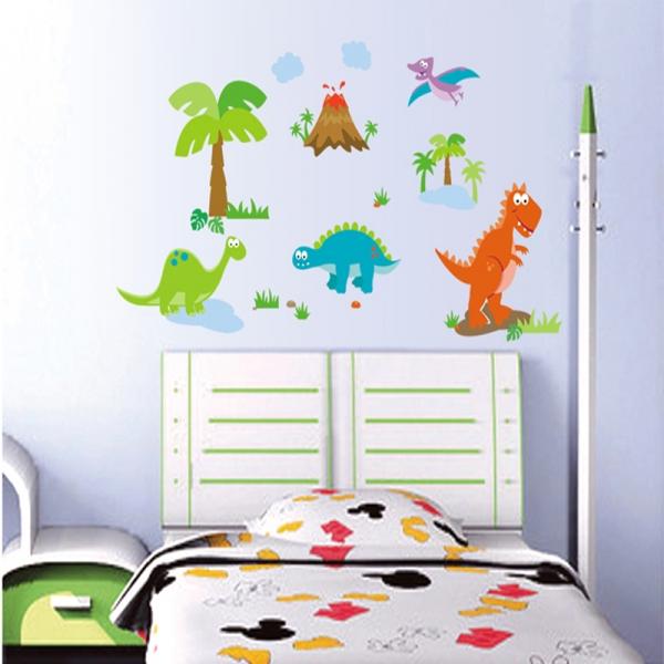 Sticker decorativ copii - Lumea dinozaurilor 4