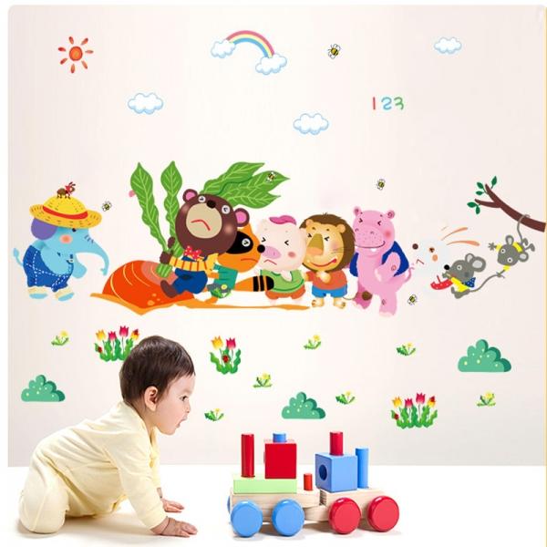 Sticker decorativ copii - Ridichea uriasa