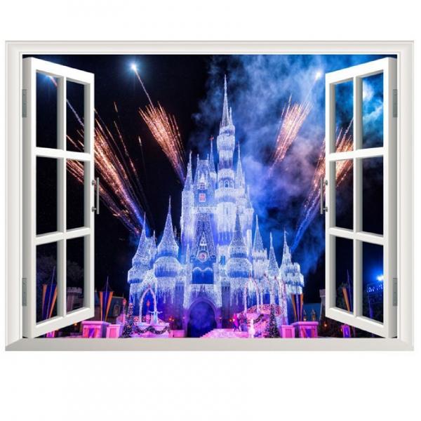 Stickere 3D pentru fete- Castel cu artificii 1