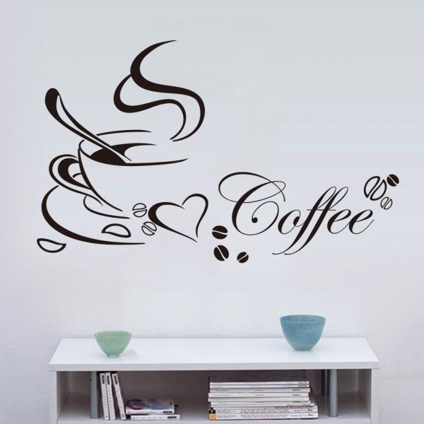 Stickere bucatarii - I love coffee - Ceasca de cafea 0