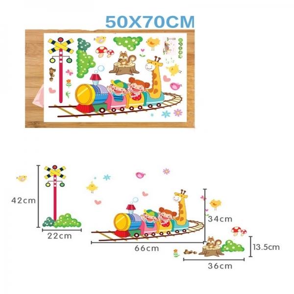 Stickere camere copii - Trenuletul vesel