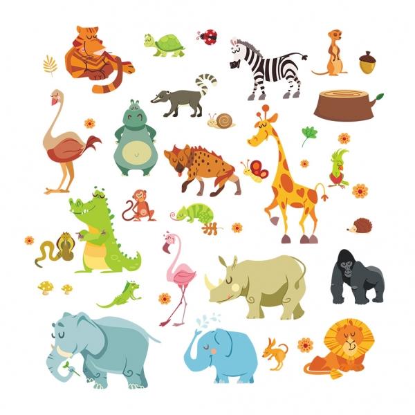 Stickere copii - Animale