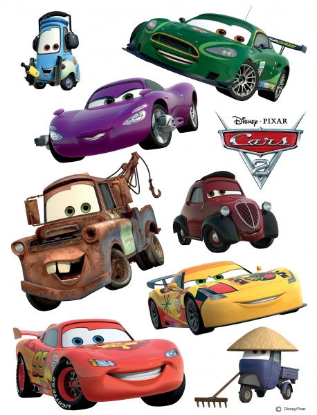 Sticker Masini - Cars - 65x85cm - DK887